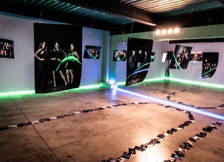 Mostra fotografica presso lucelab by pollice illuminazione